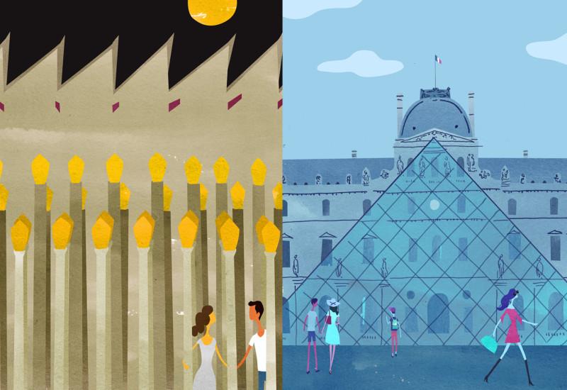 Museums - LACMA vs. Louvre