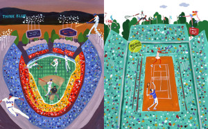 Spectator Sports - Dodger Stadium vs. Roland Garros