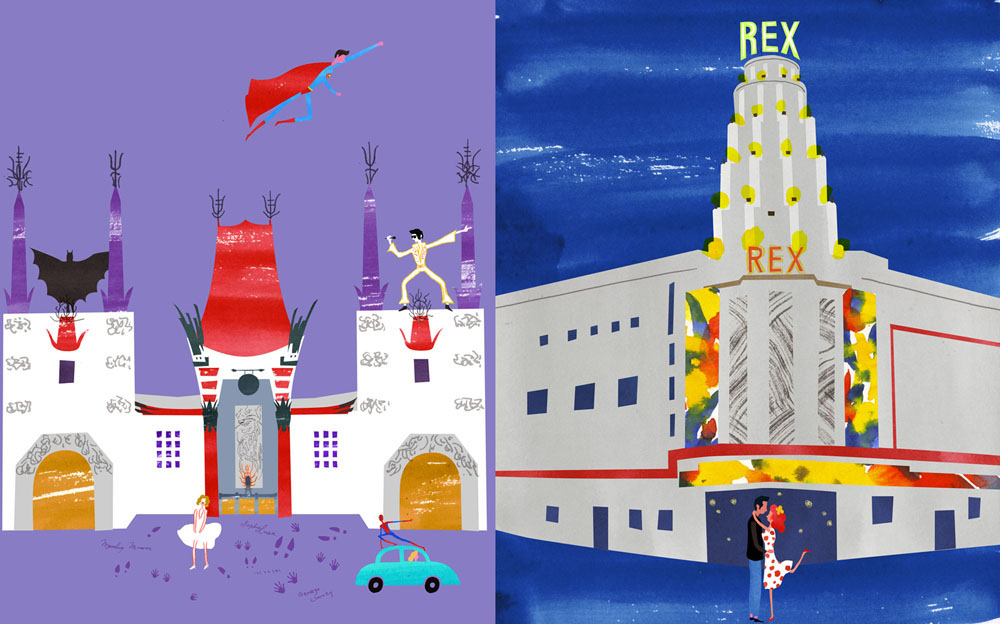 Cinemas - Grauman's Chinese Theatre vs. Rex