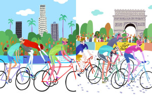 Bicycle Races - Tour of California vs. Le Tour de France