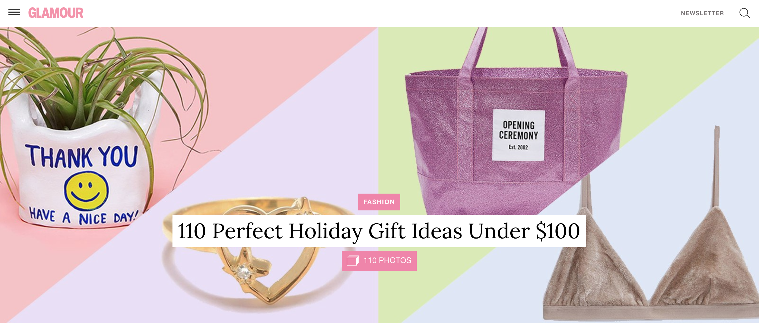glamour gift guide