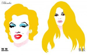 Blondes - Marylin Monroe vs. Bridgette Bardot