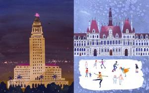 City Halls - L.A. City Hall vs. Hotel de Ville